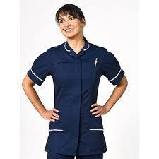H/care tunics ladies NAVY BLUE